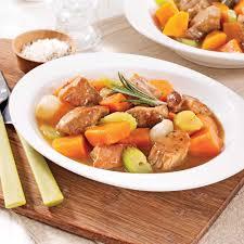 cuisiner la patate douce mijoté de porc à la patate douce recettes cuisine et nutrition