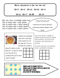 maths group challenges puzzle sheets by aap03102 teaching