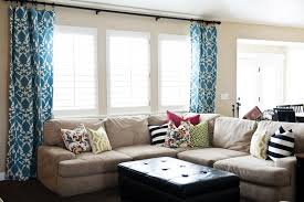 furniture outstanding contemporary window treatments for living