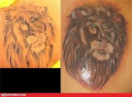 ugliest tattoos lions bad tattoos of horrible fail situations
