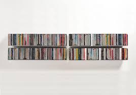 wandregal unsichtbar befestigen cd regal cd wandregal teebooks teebooks