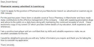 cover letter exle pharmacist cover letter resume retail pharmacist cover letter exle