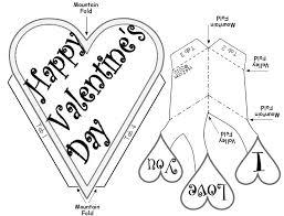 free valentine u0027s day pop up card