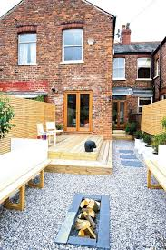 House Gardens Ideas Remodelled Garden To Terraced House Outdoor Room Pinterest