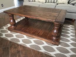 Baluster Coffee Table Genuine Hand Turned Balustrade Coffee Table Legs