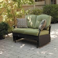 Metal Sofa Glider Composite Patio Furniture Glider Home Outdoor Decoration
