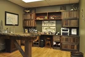 Wood Home Office Furniture Reclaimed Barn Wood Office Rustic Home Office Indianapolis