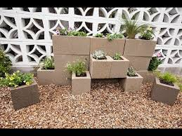 how to build a cinder block garden wall with justin kasulka youtube