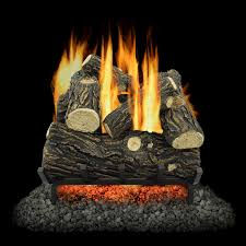 pleasant hearth electric crackling natural wood log fire with