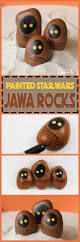 jawa rocks a fun painted rock craft for star wars fans