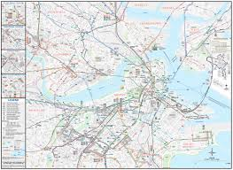 Chelsea Map Boston Bus Map Mbta Bus Map United States Of America