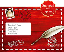 letter from santa and father christmas letters official lapland
