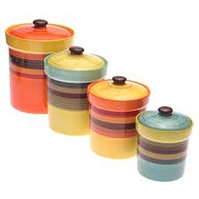 colorful kitchen canisters colorful kitchen canisters sets kitchen set walmart