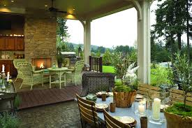 French Country Outdoor Furniture by French Country Farmhouse Decor Porch Traditional With Patio