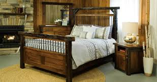 Log Bed Pictures by Log Bedroom Furniture