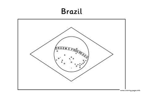 Printable Flags Flag S Brazil Coloring Pages Printable