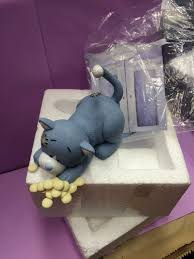 me to you my blue nose friends figurine mischievous kittywink