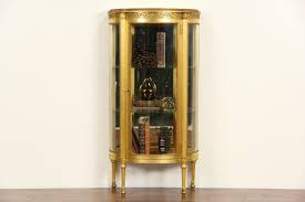 Curio Cabinets Ebay Sold Display And Curio Cabinets Harp Gallery Antiques