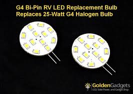 g4 12 led light bulb replacement for rv puck lights white 2