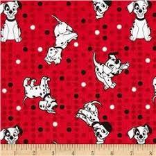101 dalmation fabric disney fabric dalmation fabric material