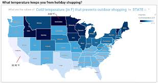 Colorado Temperature Map by Watson Analytics Takes A Peek Into Holiday Shopping And Weather