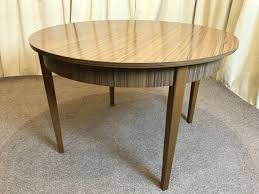 retro dining table u0026 chairs extendable table 1960 u0027s teak formica