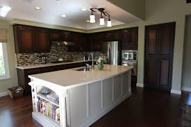 White Island Kitchen White Island Kitchen Transitional Kitchen San Francisco By