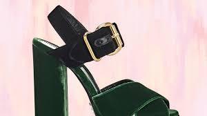 best chunky heels platform trends