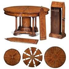 expanding circular dining table expanding circular table livingonlight co
