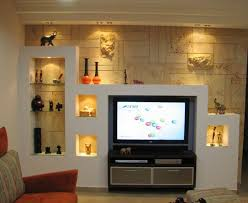 how to creatively use wall niches living room console for the
