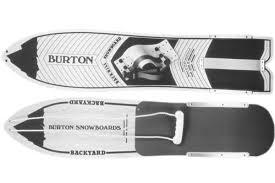 burton throwback snowboard red bull