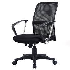 Desk Chair Back Costway Modern Ergonomic Mesh Mid Back Executive Computer Desk