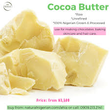 where to buy edible cocoa butter naturally cocoa butter nigeriannatural