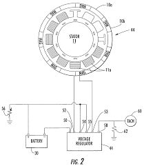 patent us6982545 alternator system with temperature protected