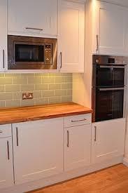 ex display hygena kitchen valetti blue cabinets individual units