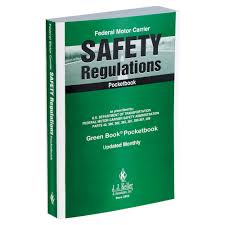 dmv manual book federal motor carrier safety regulations handbook green book