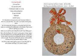 9 best birdseed ornaments images on crafts
