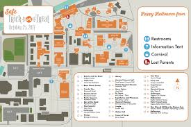 Pacific University Campus Map Safe Trick Or Treat