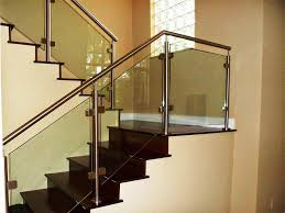 contemporary stainless steel stair railings u2014 contemporary