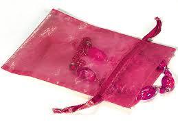 pink organza bags hot pink organza bags 5x7 with satin drawstrings b95209