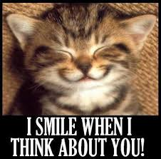 Funny Smile Meme - i smile when i think about you