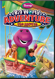 amazon com barney big world adventure the movie julie johnson