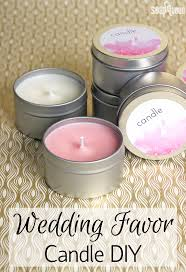 wedding favor candles diy wedding favor candles soap