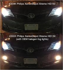 xenondepot xtreme hid kit review 5000k 4300k toyota nation forum toyota car and truck forums