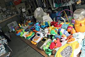 How To Organize Garage - how to organize yard sale items