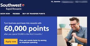 Best Business Credit Card Offers Southwest Business Credit Card 60 000 Point Sign Up Bonus