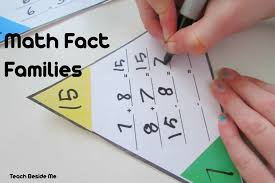 math fact families multiplication division printable math fact families cards teach beside me