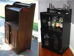 Diy Bar Cabinet Diy Bar These Two Hands