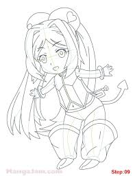 how to draw muru muru from mirai nikki mangajam com