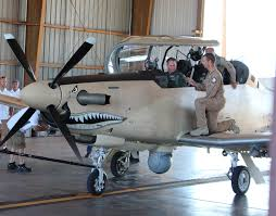 at 6 light attack aircraft air force chief of staff gen david goldfein speaks with a